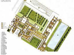 Roman Villa Floor Plans by Villa Oplontis Where Nero U0027s Wife Lived Amalfi Coasting