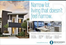 narrow lot homes perth awesome aspen with narrow lot homes perth