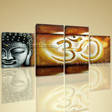 om modern asian kitchen abstract feng shui painting giclee print buddha om zen art on canvas