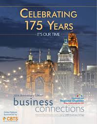 cincinnati usa regional chamber 175th anniversary publication by