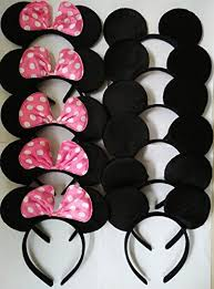 how to make mickey minnie mouse ears for a party minnie mouse