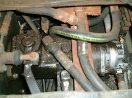 hydraulic problems power trac 1850