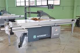 altendorf sliding table saw sliding table saw unused altendorf model wa80 type wa80x s n 11