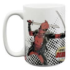 large deadpool coffee mugs for sale deadpool zak zak designs