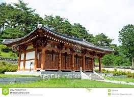 korean traditional home stock photo image of vintage 15416648