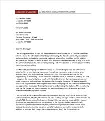 11 teacher cover letter templates u2013 free sample example format