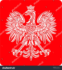 polish coat arm stock vector 349038287 shutterstock