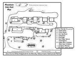 Rocky Mountain National Park Map Our Property Estes Wildwood Inn