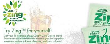free finder usa try a free sle of all new zing zero calorie sweetener free