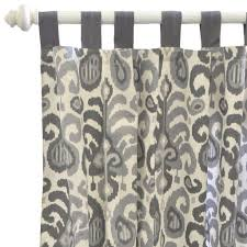 curtain panels urban ikat in gray u2013 jack and jill boutique