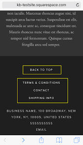 Business Email Header by Squarespace Help Bedford Structure And Style