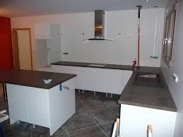 meuble cuisine a poser sur plan de travail pose plan travail simple plan de travail arden blue with pose