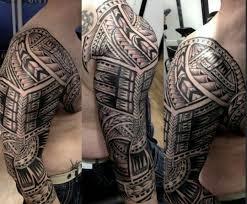 polynesian by sini manu at art and soul tattoo plymouth uk
