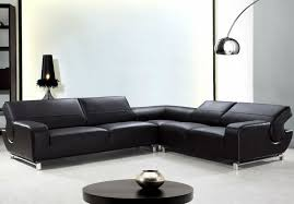 Contemporary Black Leather Sofa 17 Black Modern Leather Sofa Carehouse Info