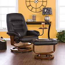 Office Chair And Ottoman Adjustable Black Leather Recliner And Ottoman Office