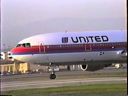 united dc 10 30 rockets out of lax great sound youtube