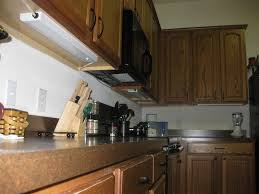 contemporary kitchen room decoration with wireless under cabinet