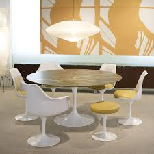 eero saarinen tulip stool knoll modern furniture palette