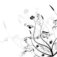 Black And White Design Black And White Floral Design Free Download Clip Art Free Clip