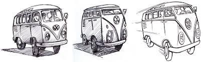 volkswagen van cartoon july 2010 spencer reynolds art blog
