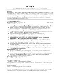 Sample Resume Objectives For Training by Resume Samples Retail Jobs