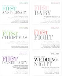 6 custom married first wine labels unique wedding by studioblabels