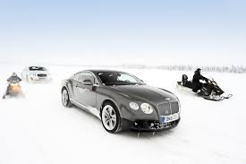 bentley snow bentley continental gt3 r adds potent ice power in 2015