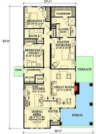 narrow floor plans plan no 505161 house plans by westhomeplanners com narrow house