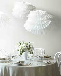 easy to make paper decorations for your wedding martha stewart pleated poufs