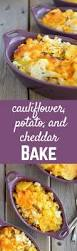 great thanksgiving side dishes cauliflower potato and cheddar bake rachel cooks