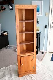 target corner bookcase virginia and charlie the corner shelf finally