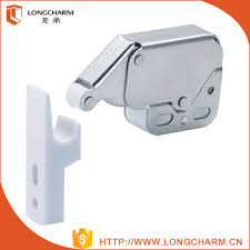 touch latch cabinet hardware plastic push cabinet lock catch door catch cabinet mini touch latch