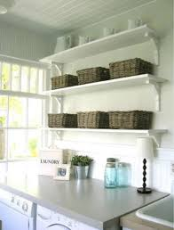 Diy Laundry Room Storage by Storage U0026 Organization Wall Mounted Laundry Room Shelving With
