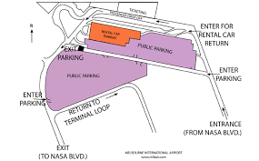 melbourne fl map airport parking map
