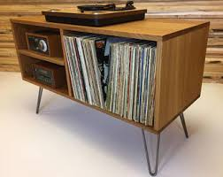 Mid Century Record Cabinet by Mid Century Modern Turntable Stand Record Player Cabinet