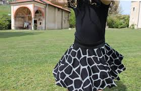 Draped Skirt Tutorial How To Sew A Circle Skirt Of Any Size