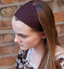 wide headband soft knit headband wide stretch hairband bandana