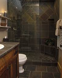 gorgeous slate tile shower for a small bathroom i absolutely