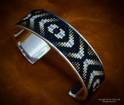 man sterling bracelet images Eye of the medicine man sterling silver beaded inlay cuff bracelet jpg