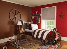 interior paint ideas and inspiration red kids rooms rodeo and