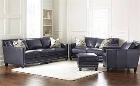 Navy Blue Leather Sofa Navy Blue Leather Sofa By Steve Silver