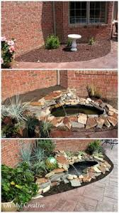 Small Backyard Water Features by Directions For Installing A Pondless Waterfall Without Buying An