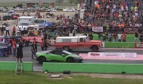 truck lamborghini lamborghini and ferrari drag race trucks for crazy finshes