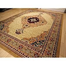 amazon com stunning silk persian rug gold 8x12 living room gold