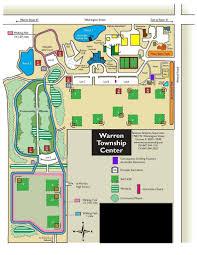 warren township campus map chicago life pinterest playground