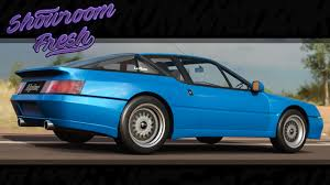 renault car 1990 forza horizon 3 1990 renault alpine gta le mans youtube