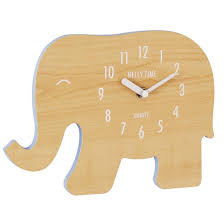 wooden animal wall clock company finish wood veneer animal children s