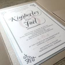wedding invitations kilkenny beige silver traditional wedding invitation by brown fox