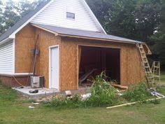 How To Build A Lean To On A Pole Barn Lean To Carport Build The Garage Journal Board Porch