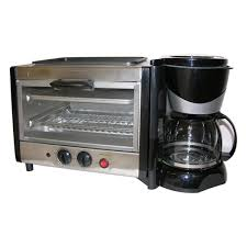 Built In Toasters 4 In 1 Breakfast Maker Toaster Oven Coffee Maker Free Shipping